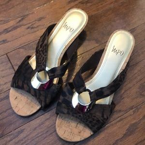Brand new Impo wedge shoes